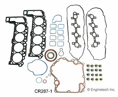 ENGINETECH CR287-1 Engine Rebuild Gasket Set
