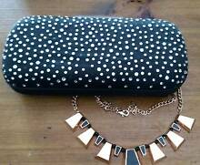 Peeptoe rose gold necklace and Peeptoe clutch Grose Vale Hawkesbury Area Preview