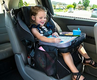 Kids E-Z Travel Lap Tray, provides organized access to drawing, snacks and ac...