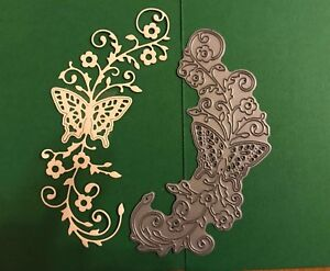 Tattered Lace Butterfly Flourish Die - Not In Packaging