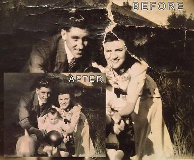 Restore Old Damaged Photos + Optional Colourisation (Digitally) Stirling Adelaide Hills Preview