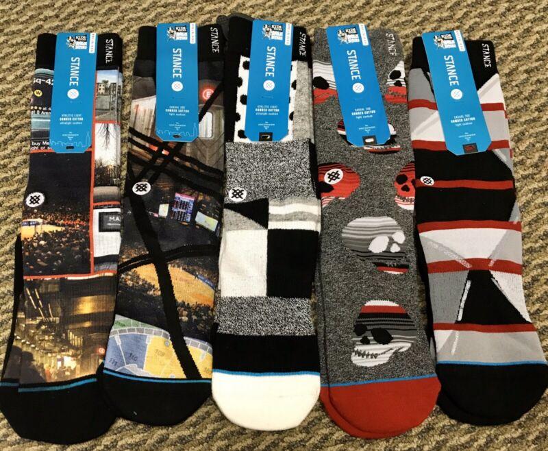 5 Pairs of Stance Kids Socks L/XL Size 6-8.5
