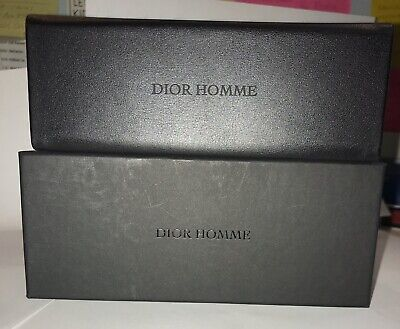NEW Dior HOMME Box, Case and Lens-Cloth for Eyeglasses (Dior Sunglasses Box)