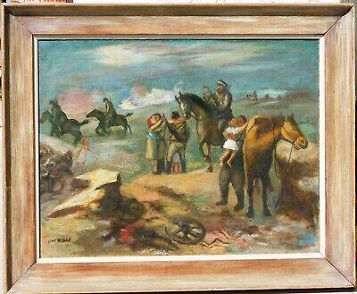 Louis Ribak,important NY artist, oil/canvas 20 x 26, ACA Gallery (Aca Oil)