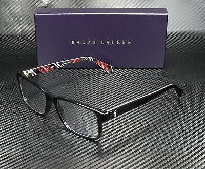 RALPH LAUREN POLO PH2123 5489 Black Demo Lens 56 mm Men's Eyeglasses