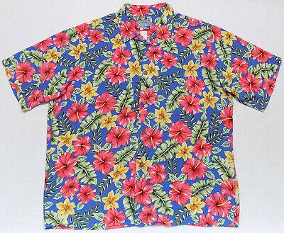 a5a54af8 Reyn Spooner for Joe Kealoha Lilybiscus 2000 Hawaiian Shirt Mens Size XL