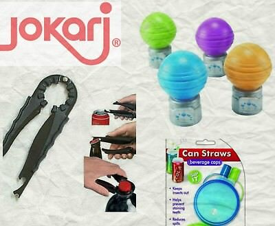 Another Jokari Idea Kitchen Gadgets  Pop Saver Can Straw + More!!