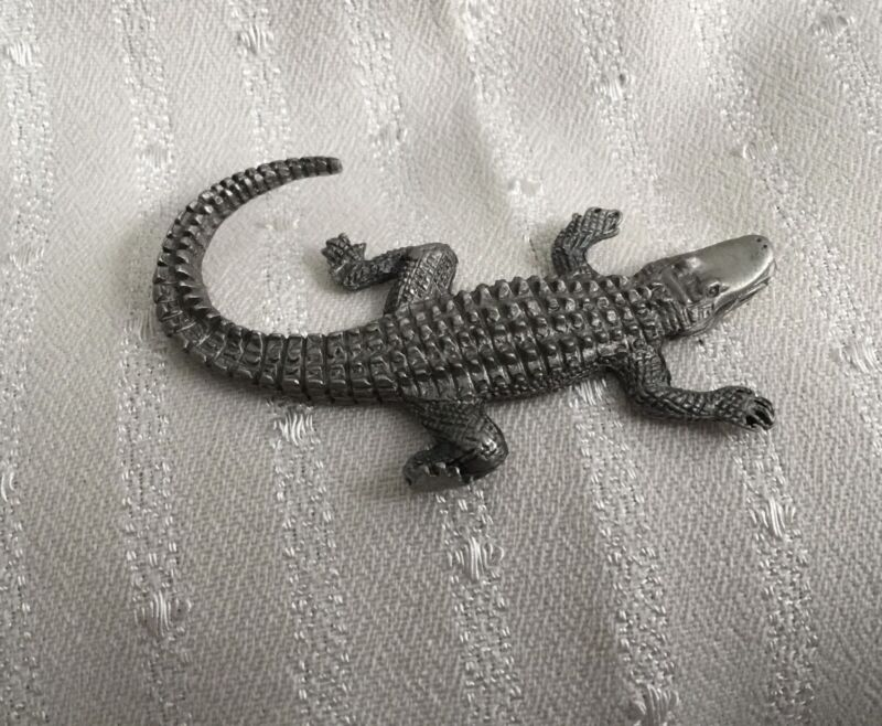 """Alligator (pewter) 2"""" Long"""