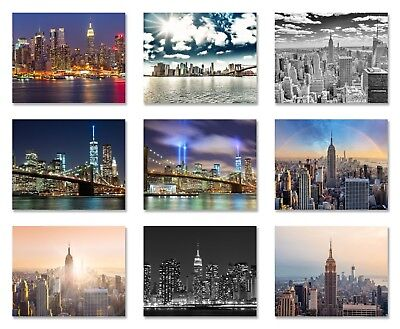 New York City skyline photo Wallpaper wall mural 9 designs Manhattan Brooklyn