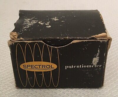 Vintage Nos Spectrol Precision Potentiometer Model 530