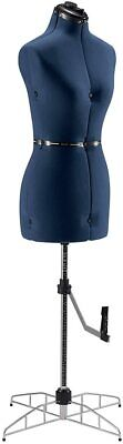 Singer Adjustable Dress Form Sized Mediumlarge - Blue