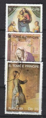 Sao Tome & Principe 1989 Natal fine used