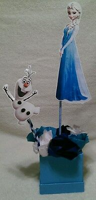 Medium Elsa from Frozen inspired party centerpiece decoration - Frozen Center Pieces