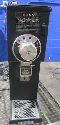 Bunn G1 Commercial Coffee Grinder 1 Lb Bulk Black