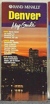 2000 Rand McNally Denver Map Guide