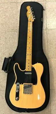 FENDER CLASSIC VIBE TELECASTER LEFT HANDED EXCELLENT CONDITION W/PADDED GIG BAG