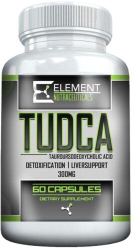TUDCA ( Tauroursodeoxycholic Acid) 60 ct / 300 mg capsules