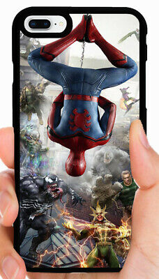 SPIDERMAN MARVEL PHONE CASE FOR IPHONE XS MAX XR X 8 7 PLUS 6S 6 PLUS 5C 5S SE 4
