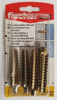 Fischer Metallspreizdübel FMD 8x 60 K