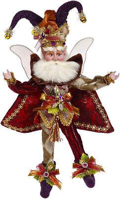 "[Mark Roberts Fairies - Court Jester Fairy 51-05856 Small 10"" Figurine </Title]"