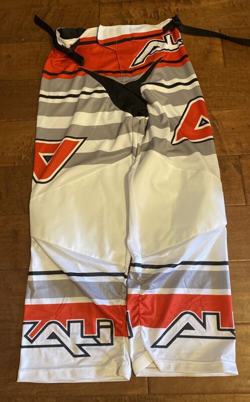 Alkali Senior Roller Hockey Pants M White/Black/Red