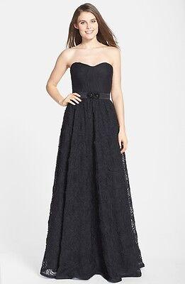 k Pleat Bodice Rosette BALL GOWN DRESS Prom NWT Many Sizes (Rosette Ballkleid)