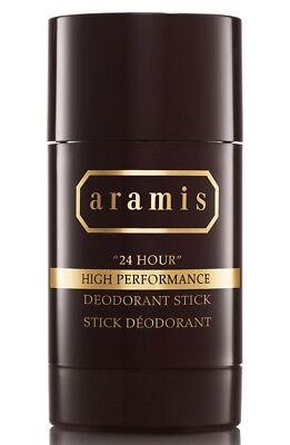 Aramis 24 Hour High Performance  2.6 oz 75 ml Deodorant Stick for Men Fresh New