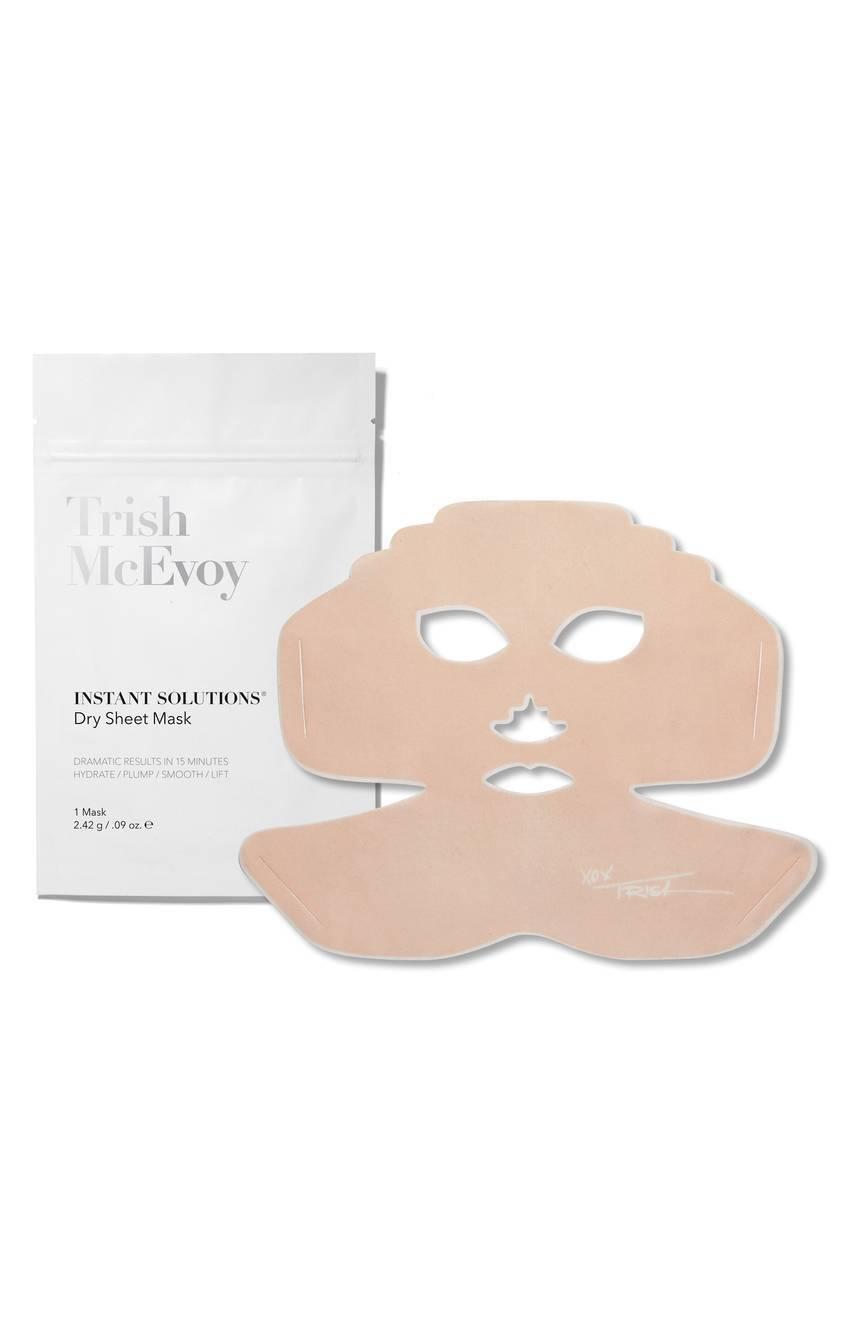 6 x Trish McEvoy Instant Solutions Dry Sheet Mask 2.42g New
