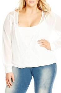 PLUS SIZE CITY CHIC PORTMAN SUMMER DRESSES TOPS +MORE FROM $25.00 St Marys Penrith Area Preview