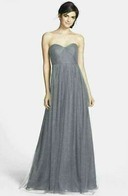 JENNY YOO Annabelle Convertible Tulle Column Dress Sz 14 - Hydrangea