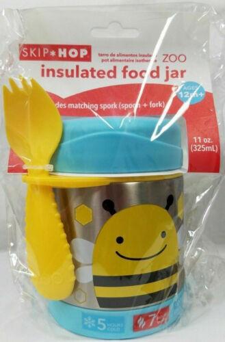Skip Hop Zoo Insulated Food Jar - Bee