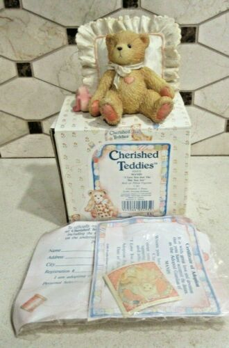 """Cherished Teddies Mandy #950572 """"Love You Just The Way You Are"""" MIB"""