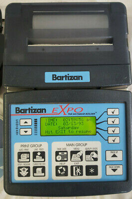 Bartizan Expo Database Builder W Software And Cipher Labs Barcode Scanners
