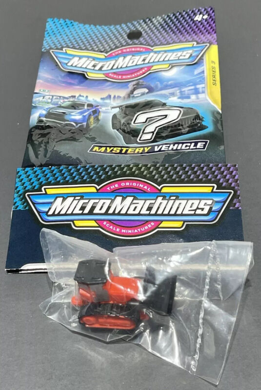 Micro Machines 2020 2021 Mystery Vehicle Blind Bags Series 3 - TRACTOR - #0160