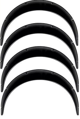 "Universal JDM Fender Flares over wide body wheel arches Extension ABS 3.5"" 4pcs"