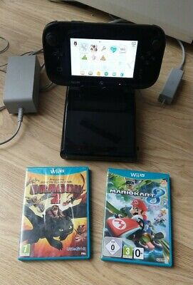Nintendo Wii U Mario Kart 8 Handheld Console Bundle
