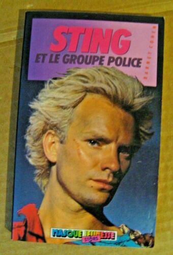 STING et le groupe POLICE 1985 Hachette Jeunesse Rock/New Wave/Punk/Cinéma