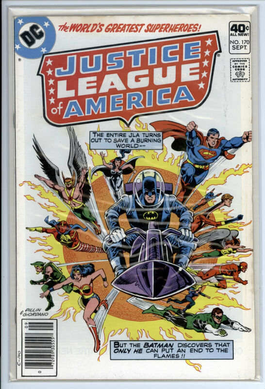 JUSTICE LEAGUE OF AMERICA #170