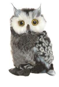 NEW AURORA PLUSH GREAT HORNED OWL CUDDLY SOFT STUFFED TOY BIRD TEDDY  - 12748