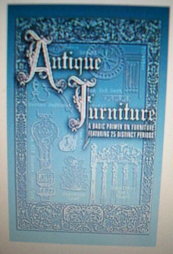 ANTIQUE FURNITURE COLLECTORS BOOK