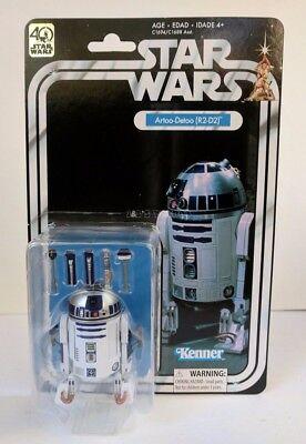 Star Wars the Black Series Artoo-Detoo R2-D2 40th Anniversary 6 Inch Figure MIB