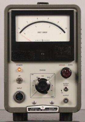 Hewlett Packard Hp Model 428b Clip-on Dc Milliammeter