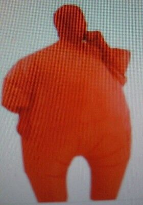 Rubies Inflatable Solid Red Fat Suit Blow Up Costume - Standard Adult Cosplay](Inflatable Suit)
