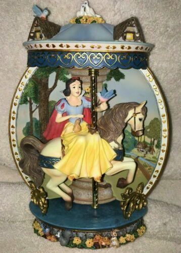 Snow White Bradford Exchange Disney Princess Carousels 3D Plate, Extremely Rare!