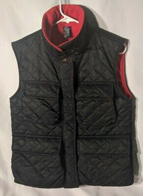 NAUTICA QUILTED VEST BLACK SMALL