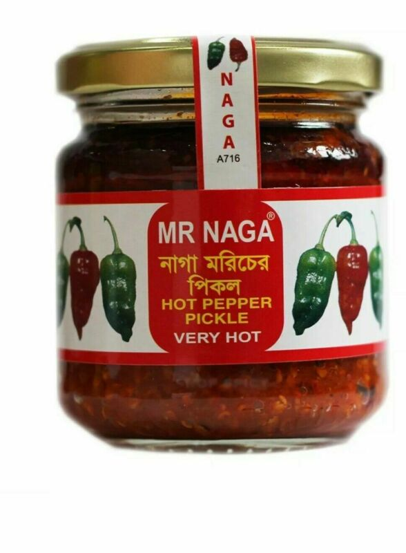 Mr Naga - Best Hot Naga Pickle In The Market 190g GREAT TASTE