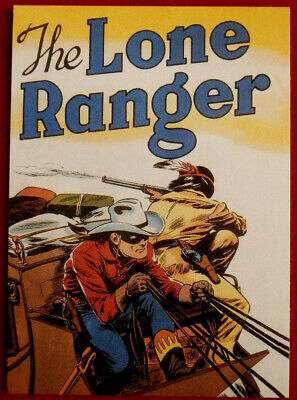 THE LONE RANGER - Card #35 - Dart 1997 - LEADING THE STAGECOACH
