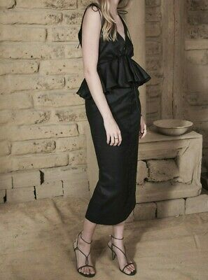 Joslin Tiffany Linen Ramie Midi Dress