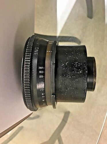 Bausch & Lomb Baltar  FL 30mm BNC Mounted Cine Camera Lense