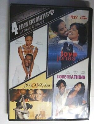 Love & B'Ball/Love Don't Cost/A Thin Line Betw Love,Hate/Love Jones - Rare - DVD
